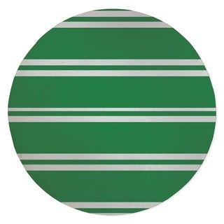 RYAN STRIPES GREEN Area Rug By Kavka Designs