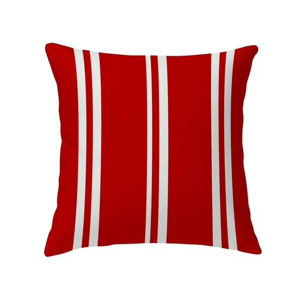 RYAN STRIPES RED Decorative Pillow by Kavka Designs. Opens flyout.