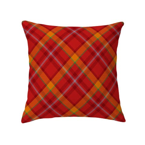 NOAH RED Decorative Pillow by Kavka Designs