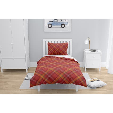 NOAH RED Comforter by Kavka Designs