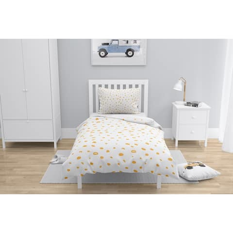 DAVID SMALL DOTS ORANGE Comforter by Kavka Designs