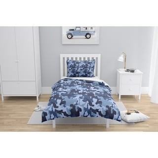CAMO FLOW NAVY Comforter by Kavka Designs