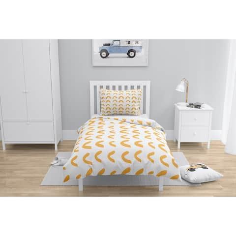 BOWEN HALF CIRCLE ORANGE Comforter by Kavka Designs