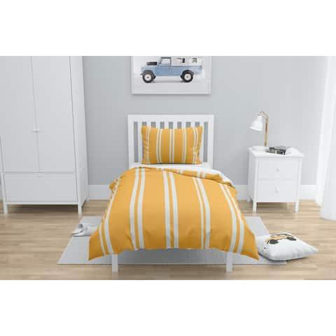RYAN STRIPES ORANGE Comforter by Kavka Designs