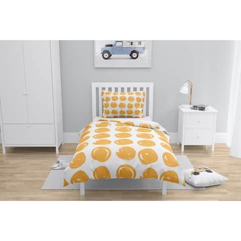 CLAY CIRCLE ORANGE Comforter by Kavka Designs