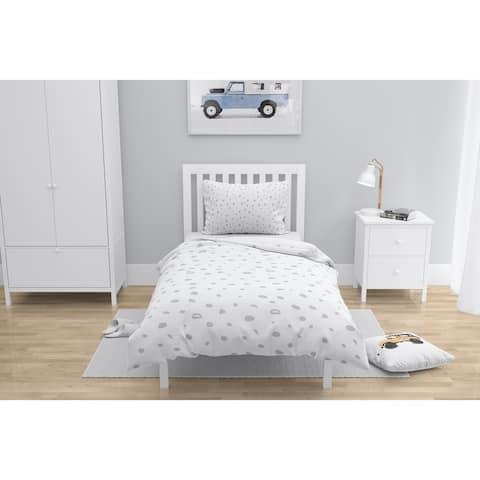 DAVID SMALL DOTS GREY Comforter by Kavka Designs