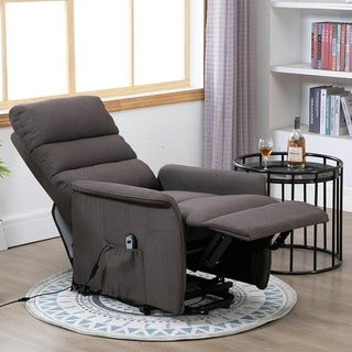 Link to HOMCOM Power Lift Assist Recliner Chair for Elderly with Wheels and Remote Control Similar Items in Living Room Furniture