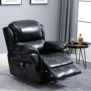 Link to Copper Grove Steyr Power Massage Recliner Chair with Heat and Remote Control Similar Items in Living Room Furniture