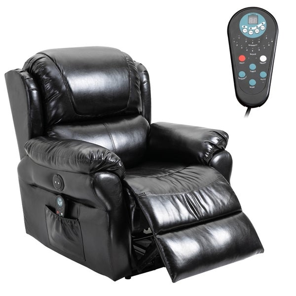 Shop Copper Grove Steyr Power Massage Recliner Chair with