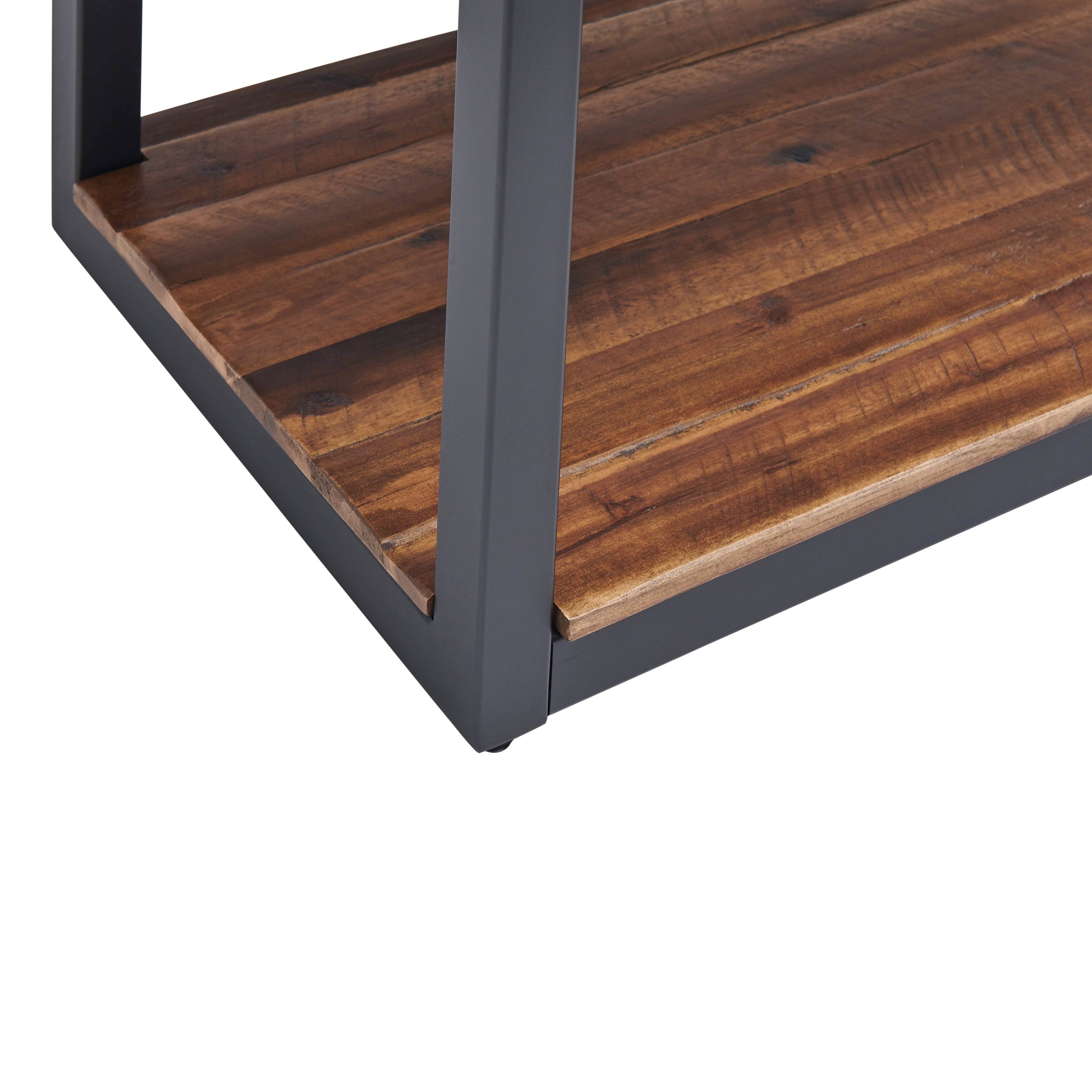 Carbon Loft Ciaravino 43 Inch Rustic Wood Console Table W 2 Drawers And 1 Shelf On Sale Overstock 29871416