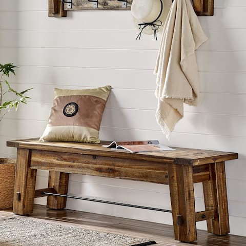 Carbon Loft Bahamondes 60-inch Wood Bench
