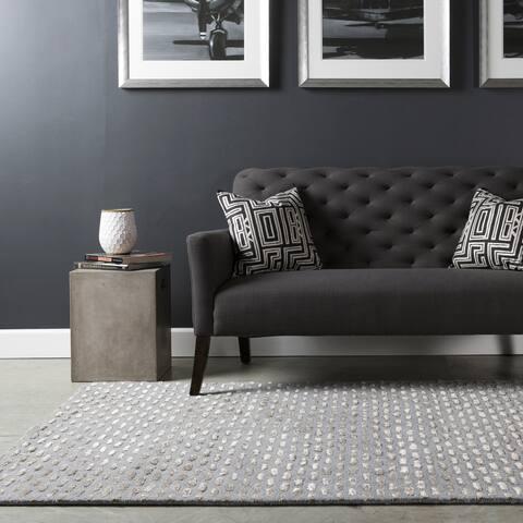 Hand-tufted Dandie Wool Area Rug - 10' x 14'