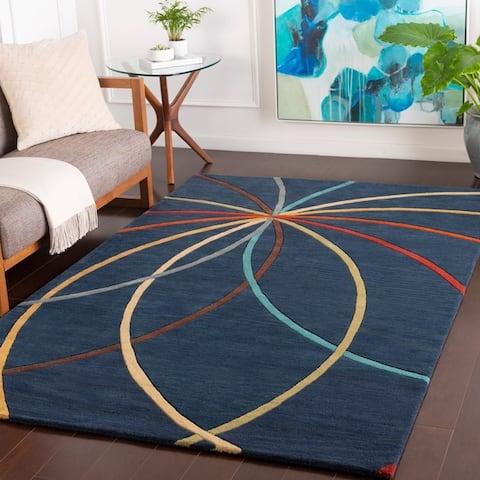 Chamba Handmade Transitional Wool Area Rug