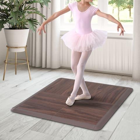 Soozier Portable Dance Floor Tiles, Tap Ballet Trade Show Flooring