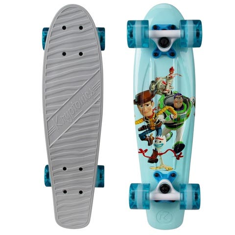 "Kryptonics Classic Toy Story 4 Complete Skateboard (22.5"" x 6"") - 22.5"""