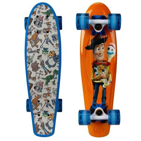 "Kryptonics Classic Toy Story 4 Complete Skateboard (22.5"" x 6"") - 22.5"""