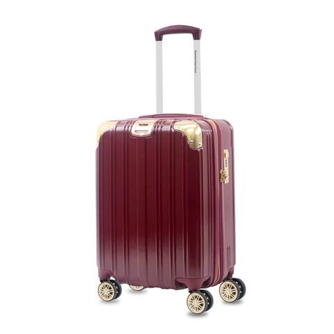 """AGT Melrose S 20"""" Carry-On Anti-theft TSA Spinner Suitcase"""