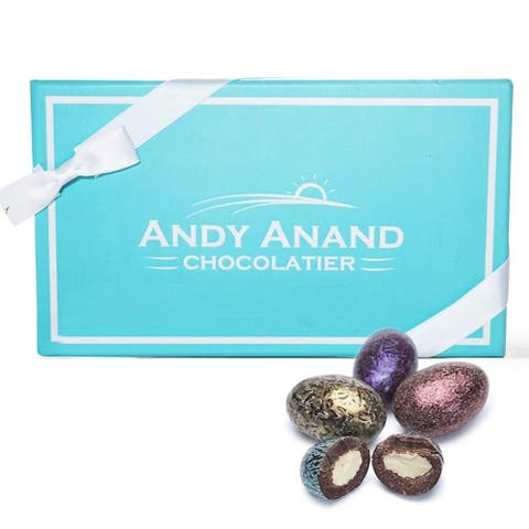 Andy Anand's Dark Chocolate California Almonds 1 lbs