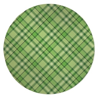 NOAH PLAID GREEN Area Rug By Kavka Designs