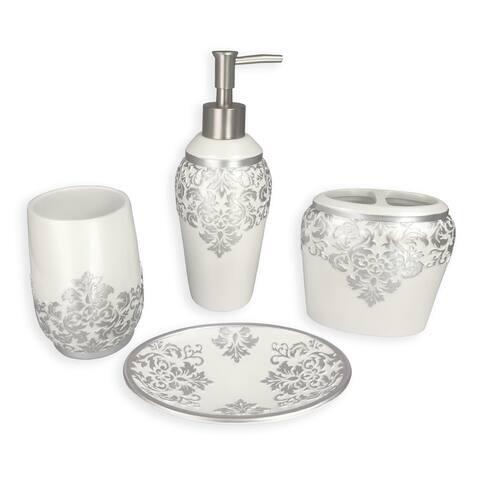 Ettore 4 pcs bath accessories set