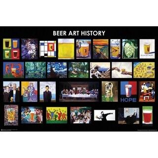 Beer Art History Poster Print