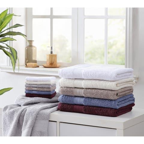 Royal Heritage 24 Piece 100% Cotton Low-twist Towel Super Set