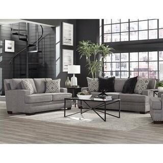 Beck Sofa & Loveseat Set - Gray