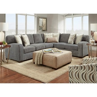 Bocchi Sectional - Steel Gray