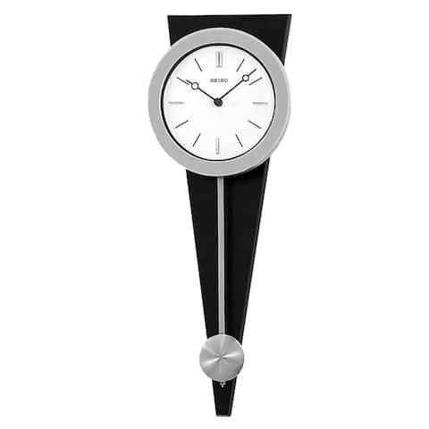 "Seiko 23"" Modern Art Clock with Pendulum"