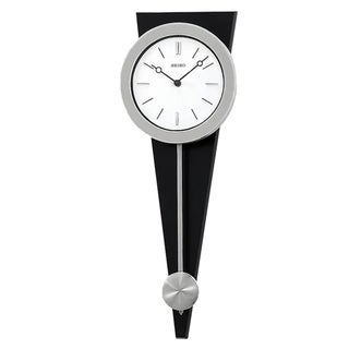 "Seiko 23"" Modern Art Clock with Pendulum"
