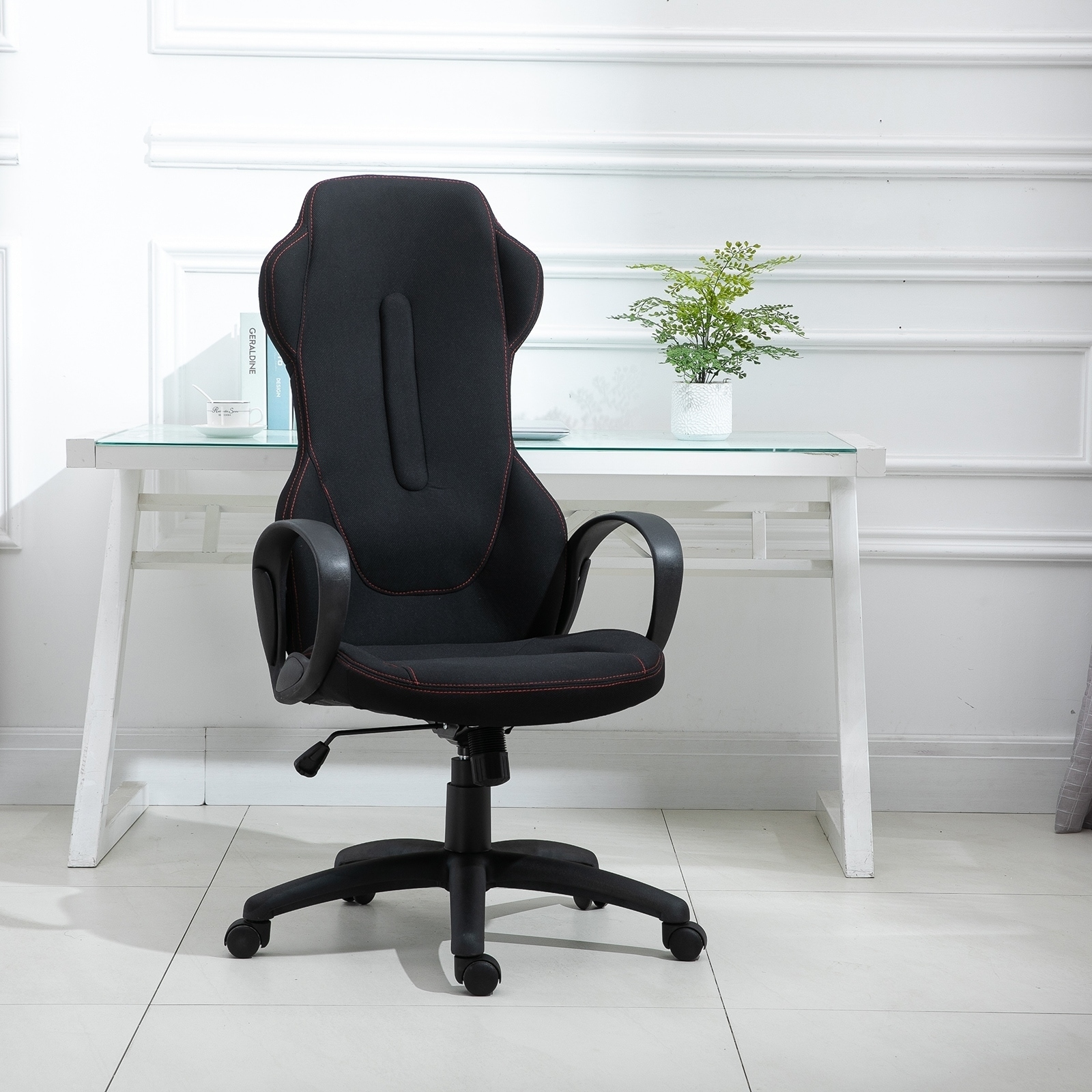 Vinsetto High Back Racing Style Gaming Office Chair Ergonomic PC Computer, on blue race car desk chair, retro style office chair, racing computer chair, racing furniture, camaro racing car office chair, antique style office chair, audi racing office chair, gt omega pro racing office chair, sitting in a chair, racing seats, racing chair xbox one, western style office chair, car style office chair, racing style swivel chair,