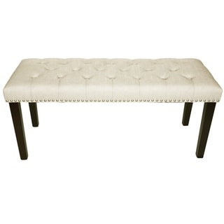 Maypex 38 in. Upholstered Bench