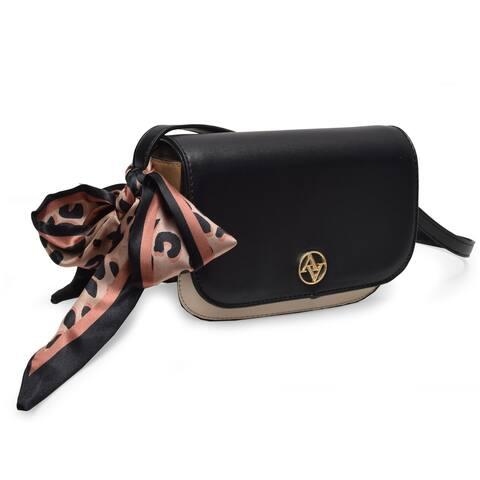 Adrienne Vittadini Scarf Crossbody Bag