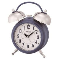 """Seiko 7"""" Traditional Dual Bell Alarm with Snooze, Dial & Light"""