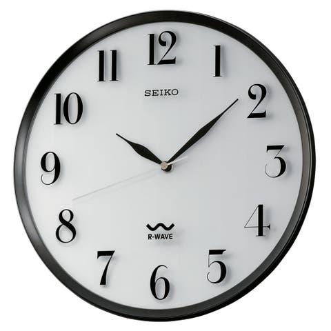 "Seiko 12"" Radio Wave Wall Clock"