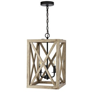 "Link to Safavieh Rabea Pendant - 12.3""x12.3""x24.5-96.5"" Similar Items in Pendant Lights"