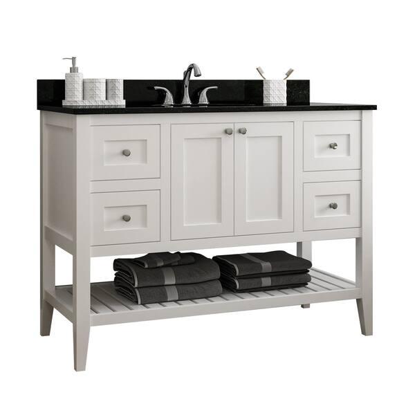 Shop Vanguard 48 Single Bathroom Vanity Base Only Overstock 29880586,Clearest Water In The Us