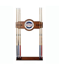 Las Vegas 2-piece Billiard Wall Cue Rack with Mirror