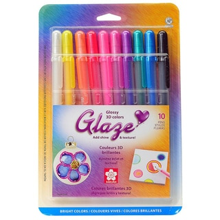 Sakura Gelly Roll Glaze Ink Pen Set