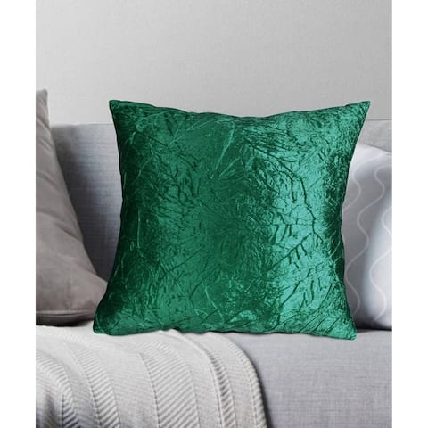 Porch & Den Suzanne Crushed Velvet Throw Pillow
