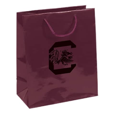 South Carolina Gamecocks Gift Bag Elegant Burgundy [R]