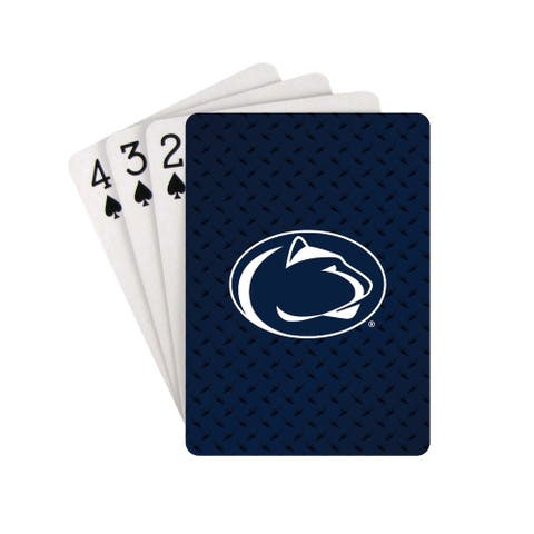 Penn State Nittany Lions Playing Cards Diamond Plate