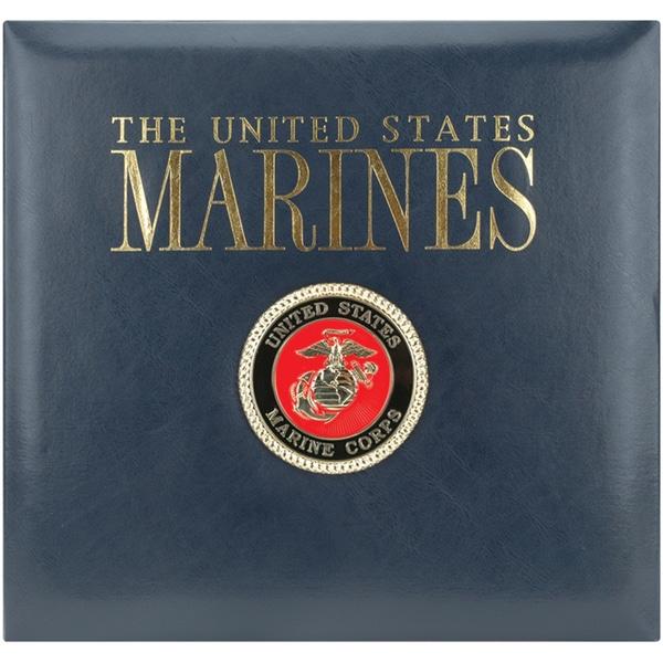 Postbound Marines Scrapbook Album