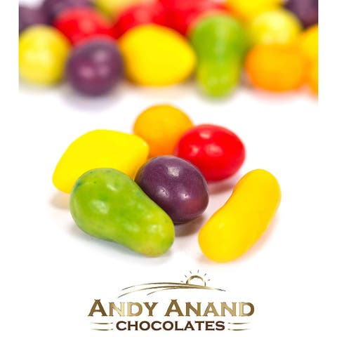 Andy Anand Swiss Petite Fruit Candy Medley Kosher Gift Box Free Air Shipping 1 lbs