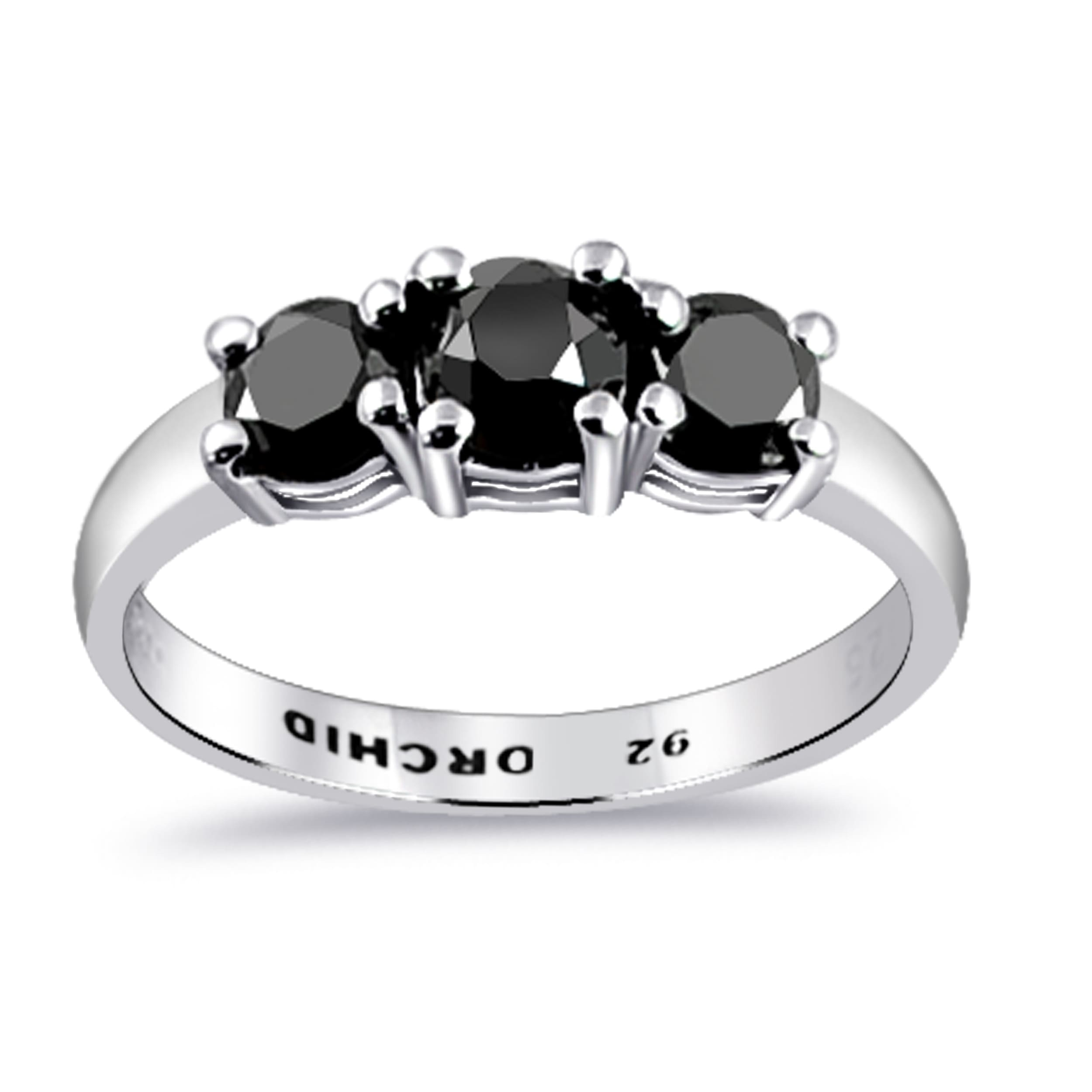 .925 Sterling Silver Vertical Infinity Knot Fashion Ring with Clear CZ Size 4-10