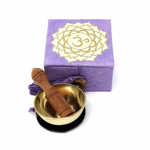 "Handmade Meditation Small Singing Bowl 2"" (Nepal)"