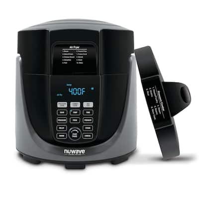 NuWave 33801 Duet Pressure Cooker Combo/Air Fryer Combo