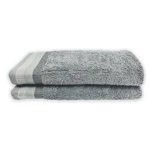 Alys Grey - 2Pc Tip Towel Set