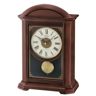 Seiko Traditional Wood Clock with Pendulum and Chime