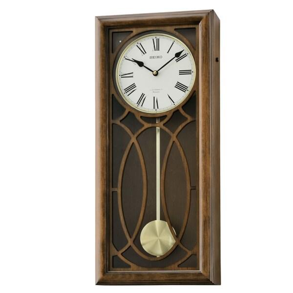 Seiko Maple & Alderwood Case Wall Clock. Opens flyout.